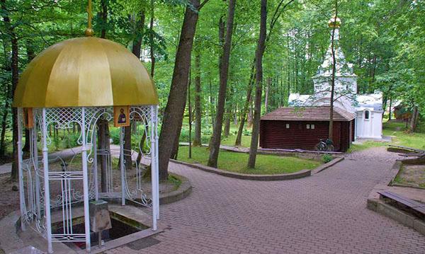 Старый источник Свято-Успенского Жировичского монастыря, Жировичи, Беларусь