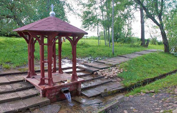 Новый источник Свято-Успенского Жировичского монастыря, Жировичи, Беларусь