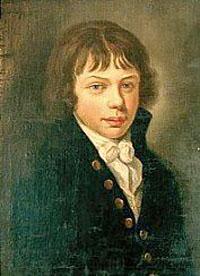 Тадеуш Костюшко в юности, краткая биография