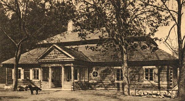 Тадеуш Костюшко, дом-усадьба, 1927 год