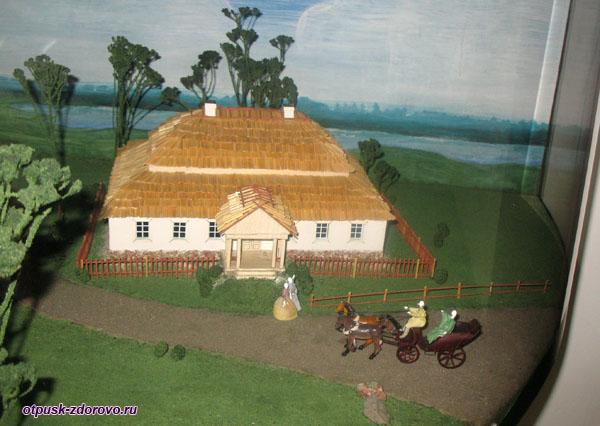 Тадеуш Костюшко, макет дома в Коссово, Беларусь