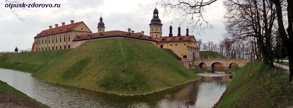 Замок Радзивиллов в Несвиже, Беларусь