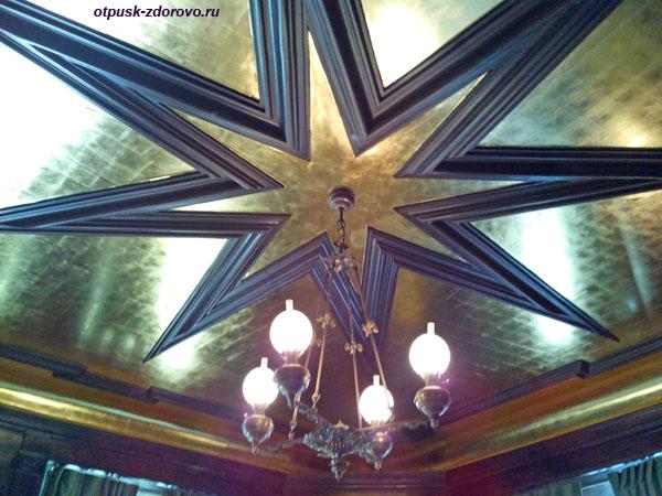Звездный зал или Комната со звездой. Замок Радзивиллов в Несвиже, Беларусь