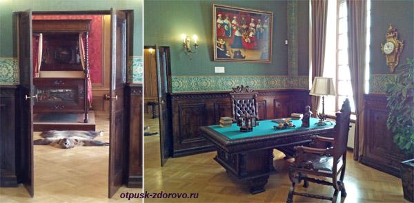 Кабинет и спальня в Замке Радзивиллов в Несвиже, Беларусь