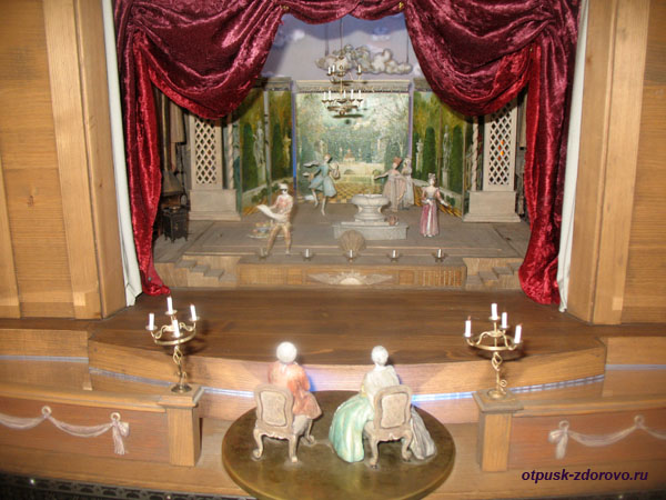 Макет театра. Замок Радзивиллов в Несвиже, Беларусь
