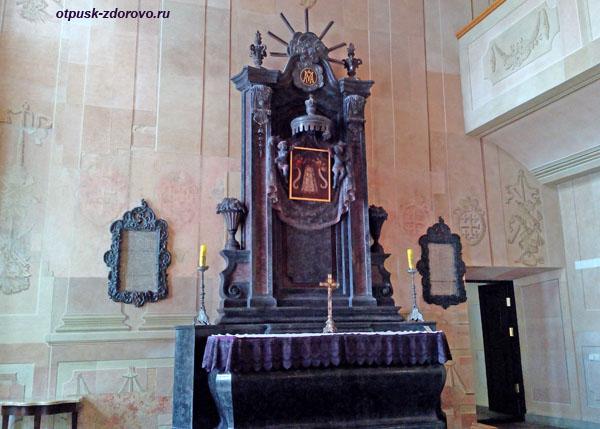 Каплица или Часовня в Замке Радзивиллов в Несвиже, Беларусь