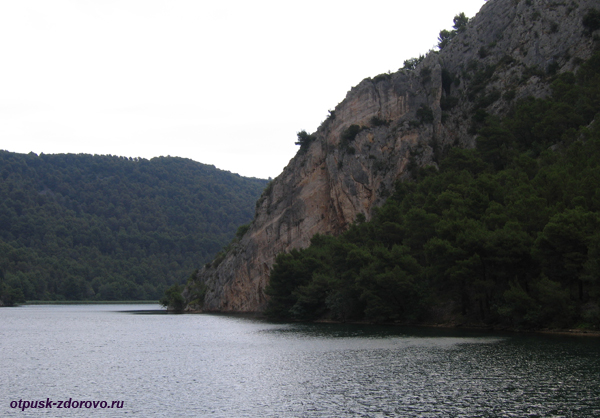 Национальный парк Крка. Теплоход из Скрадина