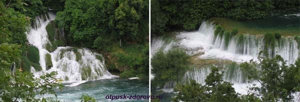 Национальный парк Крка. Хорватия. Водопады
