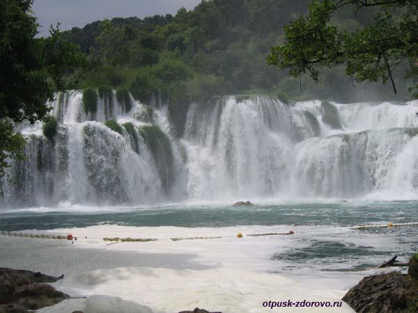 Национальный парк Крка. Водопад Скрадинский Бук. Хорватия
