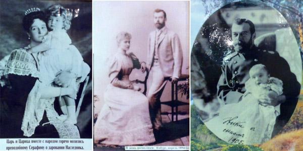 Храм на крови в Екатеринбурге на месте дома Ипатьева, фотографии царской семьи