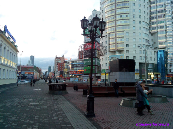 Екатеринбург, улица Вайнера