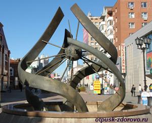 Екатеринбург, улица Вайнера, фонтан