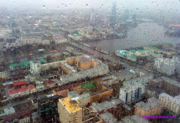 Высоцкий - смотровая площадка города Екатеринбурга, фото