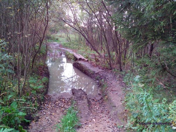 Дорога на Гремучий ручей. Грязь, грязюка