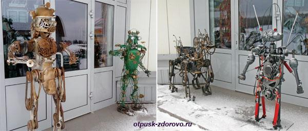 Роботы из мусора
