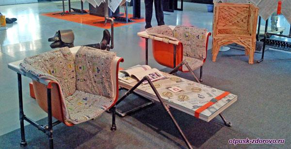 Необычная мебель, Музей Мусора в Калужской области