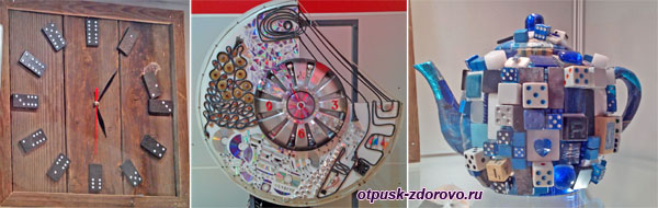Экспонаты Музея Мусора в Калужской области