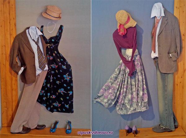 Картины из одежды