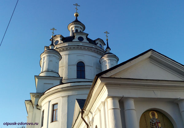 Никольский Черноостровский монастырь в Малоярославце, Никольский храм