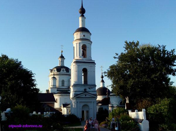 Никольский Черноостровский монастырь в Малоярославце, колокольня