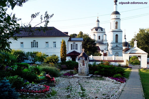 Никольский Черноостровский монастырь в Малоярославце, Часовня Божьей Матери Отрада и Утешение