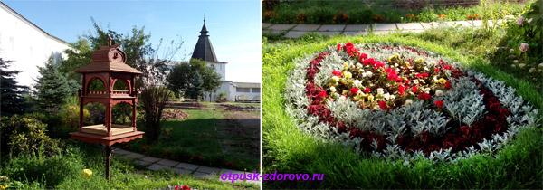 Пафнутьевский монастырь в Боровске, территория