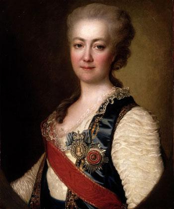 Екатерина Романовна Дашкова, княгиня Российской империи, портрет