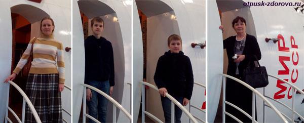 Макет орбитальной станции Мир, музей Космонавтики в Калуге