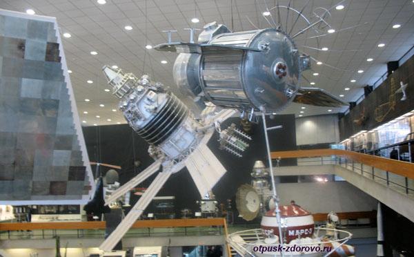Планетарий в Калуге или про музей Космонавтики, спутники