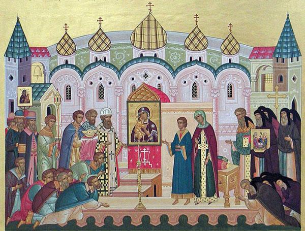 Феодоровская икона Божией Матери в Костроме