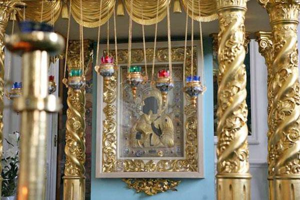 Феодоровская икона Божией Матери в Богоявленско-Анастасьином монастыре, Кострома