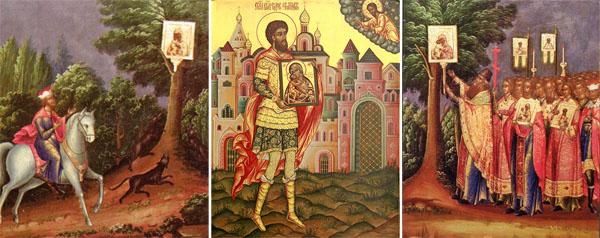 Обретение Феодоровской иконы Пресвятой Богородицы возле Костромы