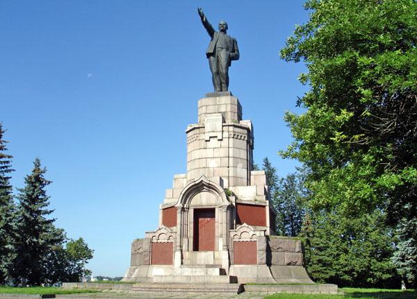 Памятник Ленину, Кострома