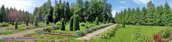 Следовский парк, Костромская область