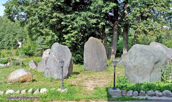 Сад камней, Усадьба Следово, Костромская область