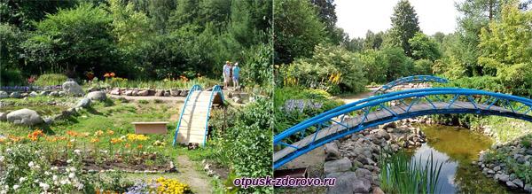 Исскусный Ландшафт с мостиками, Следово, Костромская область