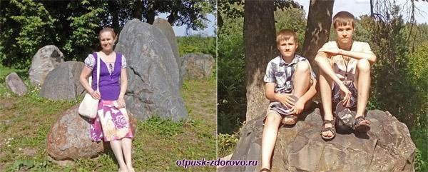 В Саду камней в Следово, Костромская область