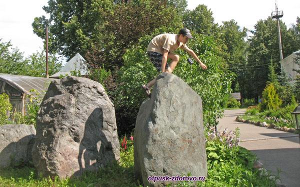 На вершине камня, Следово, Костромская область