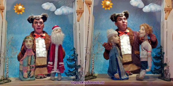 Кукольное представление в Тереме Снегурочки, Кострома