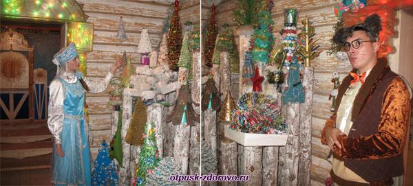 Коллекция Новогодних елок, Терем Снегурочки, Кострома