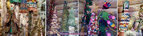 Коллекция Новогодних елок в Тереме Снегурочки, Кострома