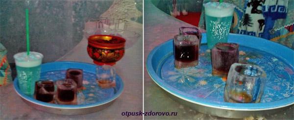 Угощение в Ледяной комнате в Тереме Снегурочки, Кострома