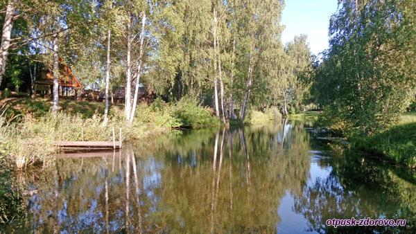 Пруд, Музей деревянного зодчества, Кострома