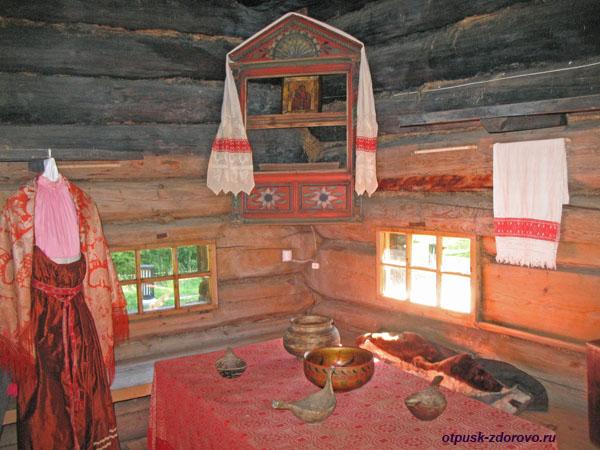 Крестьянский быт, Костромская изба