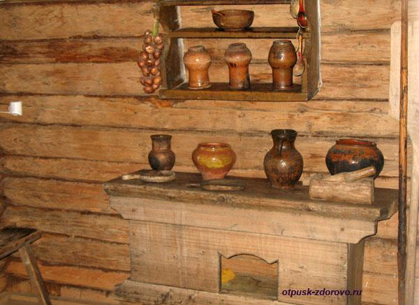Крестьянский быт, глиняная посуда