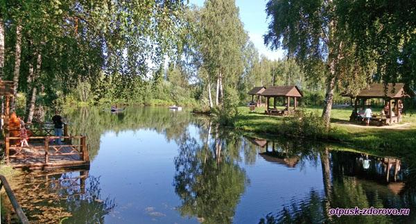 Территория музейного комплекса под открытым небом, Кострома