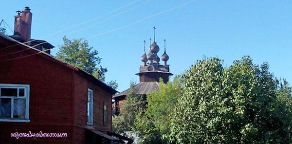 Древняя деревянная церковь Собор Богородицы, Кострома
