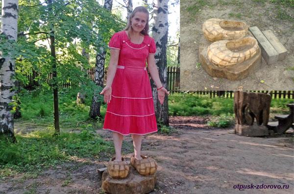 Тридевятое Царство, лапти-скороходы, Кострома