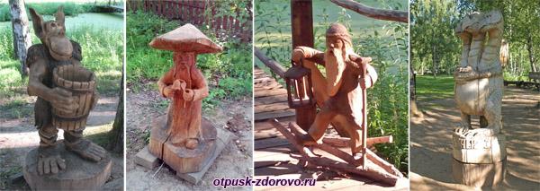Тридевятое Царство в Костромском музее деревянного зодчества