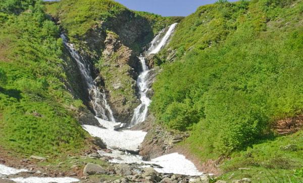 Водопад Братья, Красная Поляна